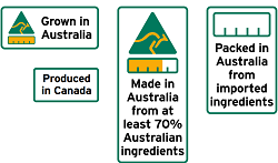 Australian Made Logos