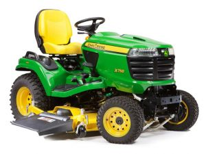John Deere ride-on mower