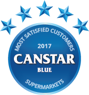 2017 Most Satisfied Customers Award for Supermarkets