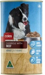 Coles Wet Dog Food