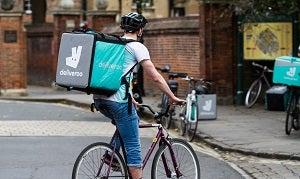 Deliveroo Delivery cyclist