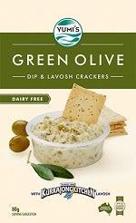 yumi green olive dip