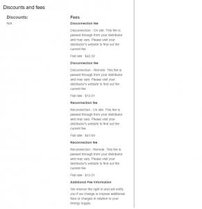 Alinta Energy price sheet VIC 2