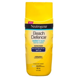 neutrogena beach defence lotion