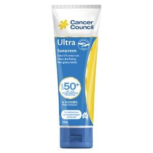 cancer council ultra spf50+