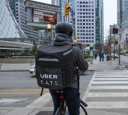 UberEats Bicycle Delivery