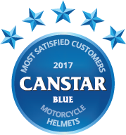 2017 award for motorcycle helmets