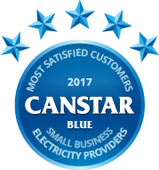 2017 award for electricity providers for small business