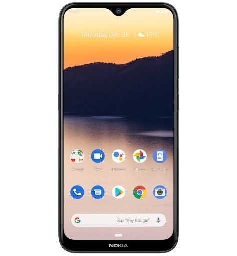The Nokia 2.3, available from Telstra