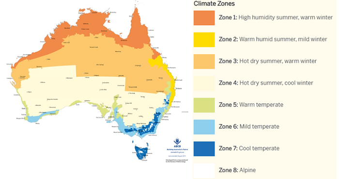 R-value-Climate-Map
