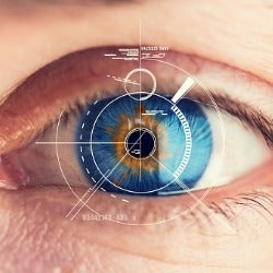 Security Retina Scanner