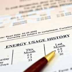 Energy Usage History