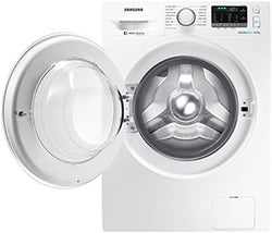 Samsung 8.5kg BubbleWash Front Load with Steam WW85J54E0IW