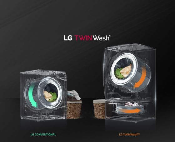 LG TWINWash Dual Washer Dryer Combo