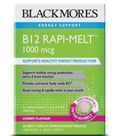 Blackmores B12 Rapi-Melt 1000mcg