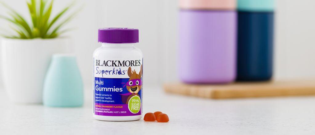 Blackmores Superkids Growing Bones Chewables