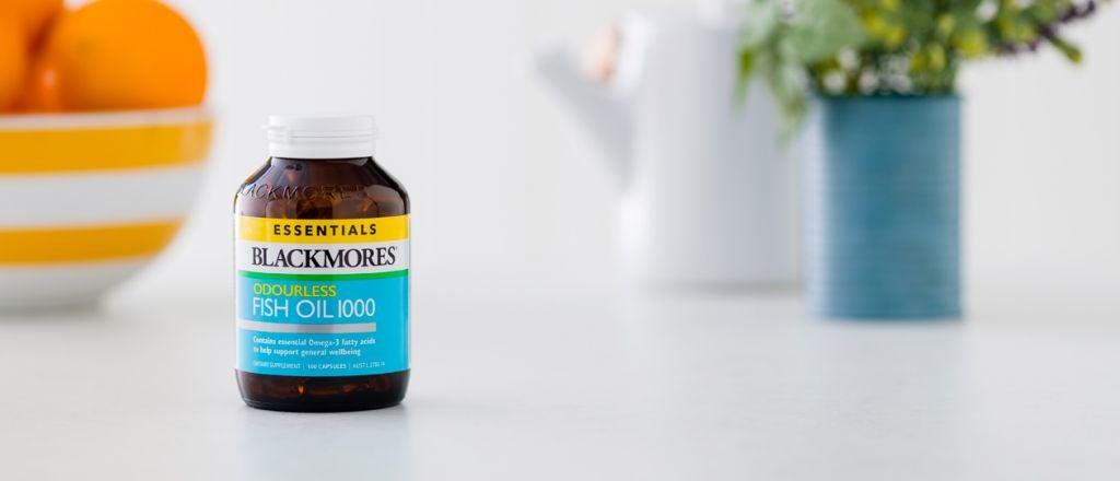 Blackmores Odourless Fish Oil 1000