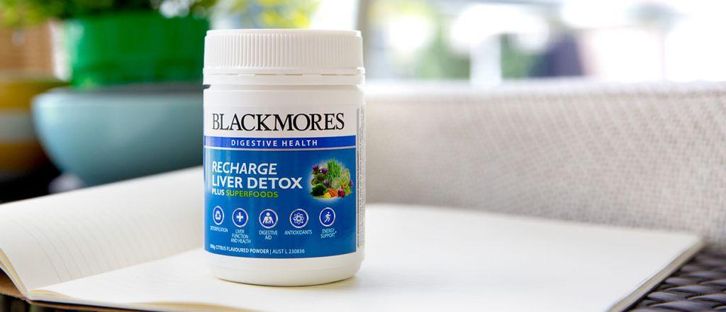 Blackmores Recharge Liver Detox Plus Super Foods