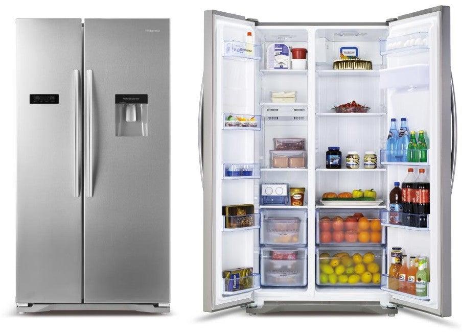 What is a side by side fridge