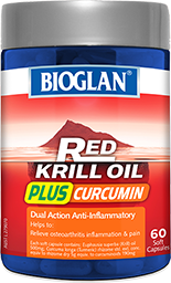 Bioglan Red Krill Oil Plus Curcumin