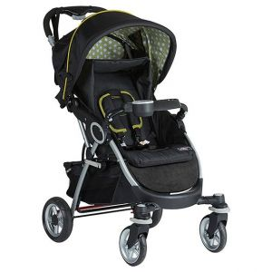 Mothers Choice Citrus 4 Wheel Newborn Stroller