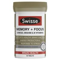Swisse Brain health and memory