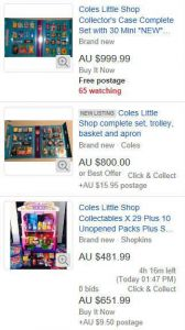 Coles Little Shop Sets Selling for $1,000! – Canstar Blue