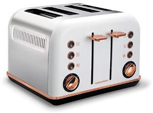 Morphy Richards Accents Rose Gold Toaster