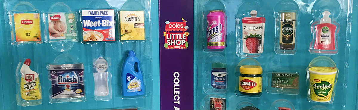 Shoppers Cashing In On Coles Mini Collectables Canstar Blue