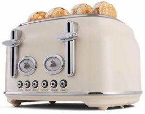 Kmart 4 Slice Stainless Steel Retro Toaster