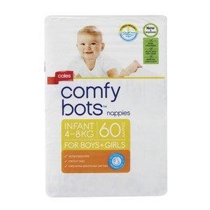 Coles Comfy Bots