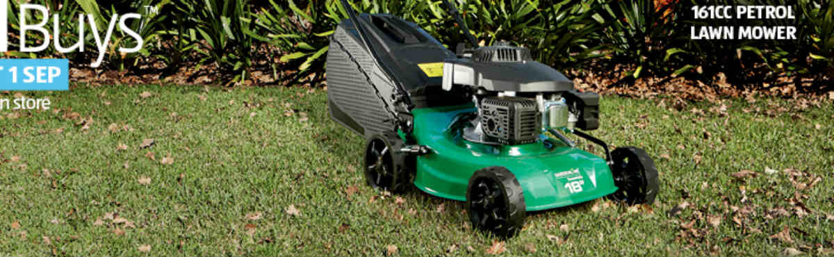 Aldi Rolls Out Lawn Mower Amp Other Gardening Gear Canstar