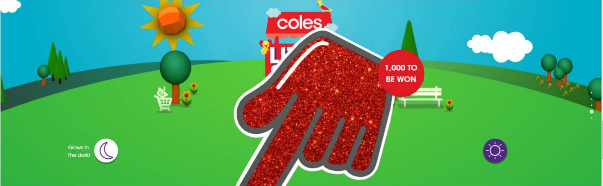Over 700 Coles Little Shop Mini Red Hands Still To Be