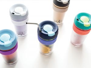 Reusable cold drink cups