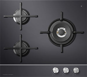 CG603DLPGB1 Gas on Glass Cooktop 3 Burner