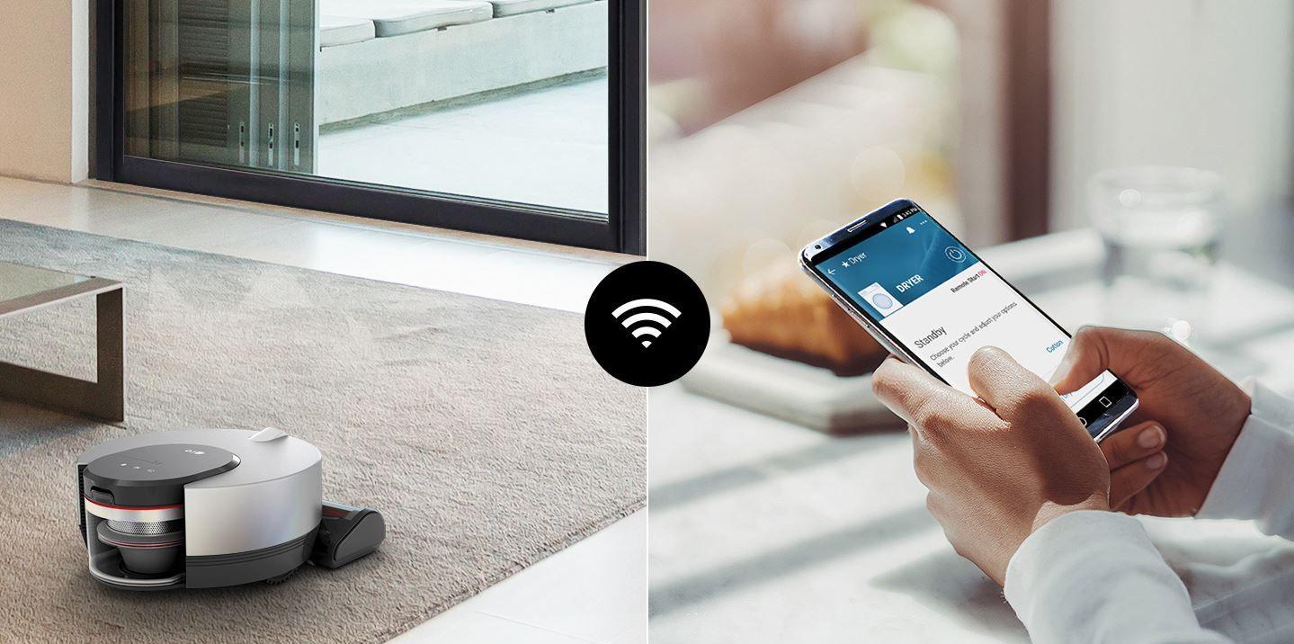 LG R9 Robotic Vacuum wifi