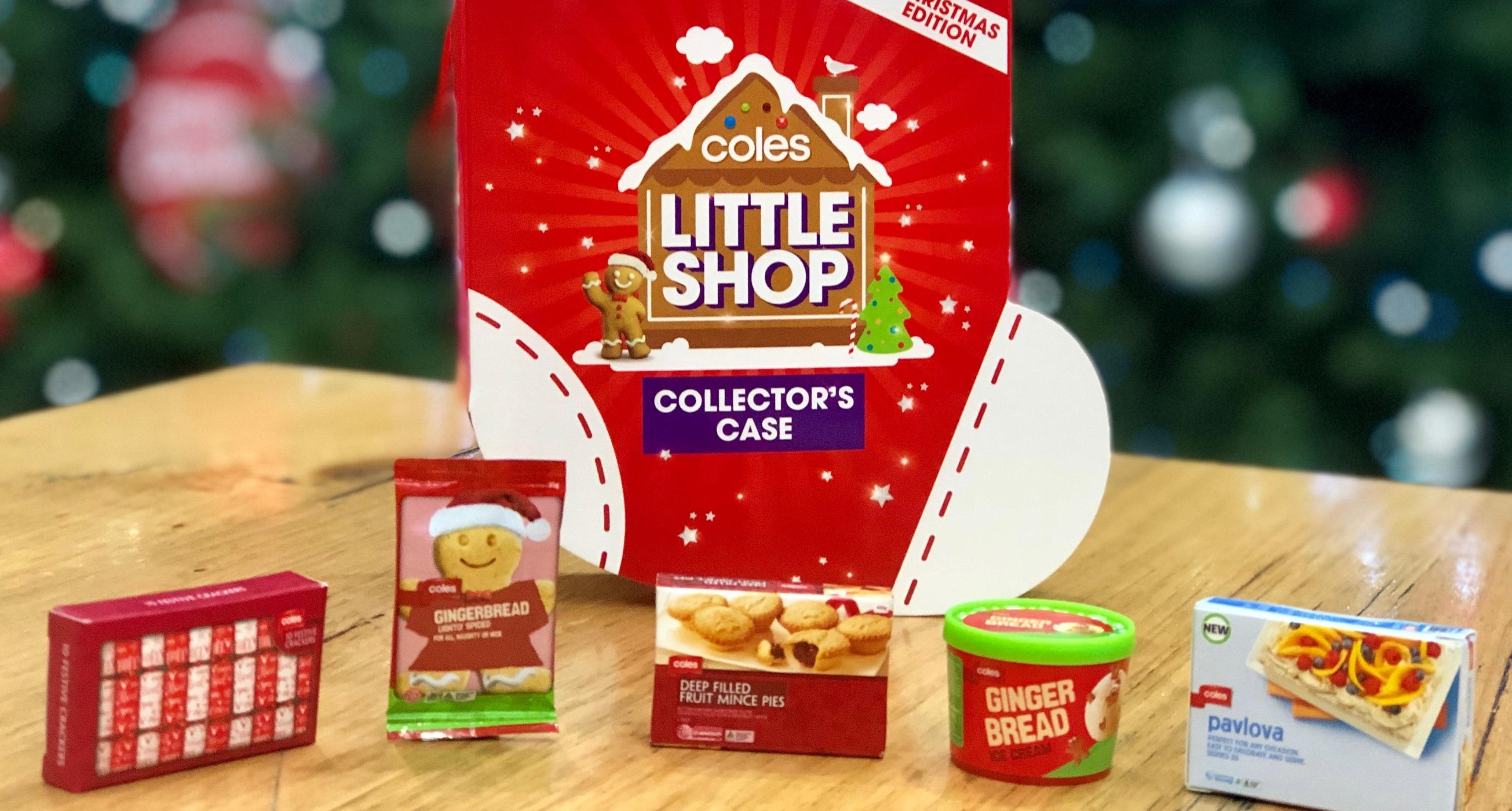 Coles Little Shop Back In Business With Christmas Collectables