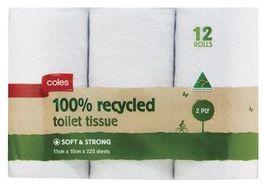 Coles Toilet Paper