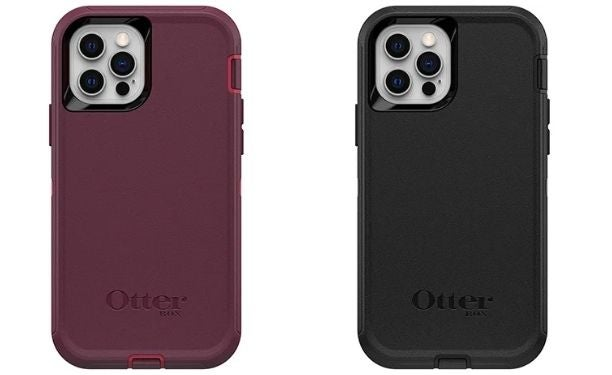 Two Otterbox Defender cases