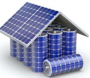 Solar battery house