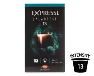 ALDI Expressi Coffee Capsules Ratings Review Prices Compare Expressi Calabrese
