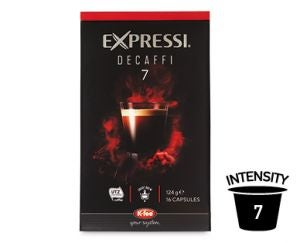 ALDI Expressi Coffee Capsules Ratings Review Prices Compare Expressi Decaffi