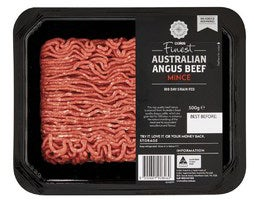 Coles Finest Angus Beef Mince