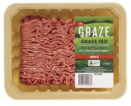 Coles Graze Grassfed Beef Mince