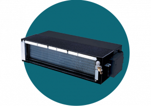 Inverter ducted