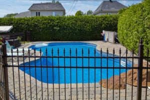 Steel Pool Fencing