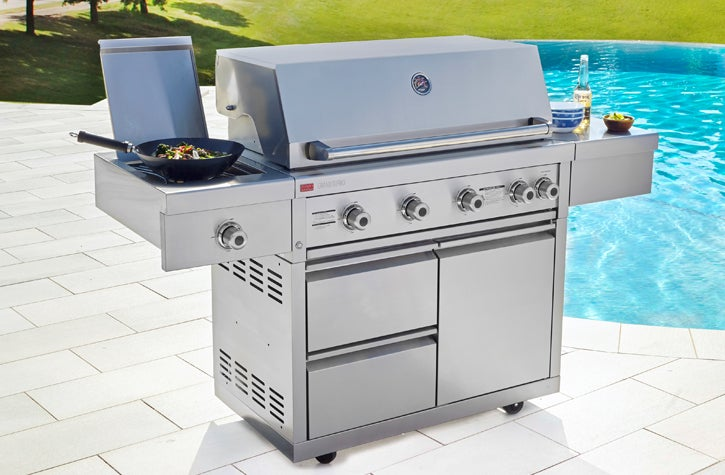 Ziegler & Brown 4-Burner BBQs