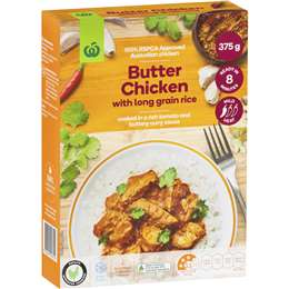 Woolworths Frozen Meals