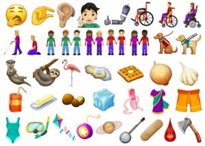 Sample of 2019 Emojis