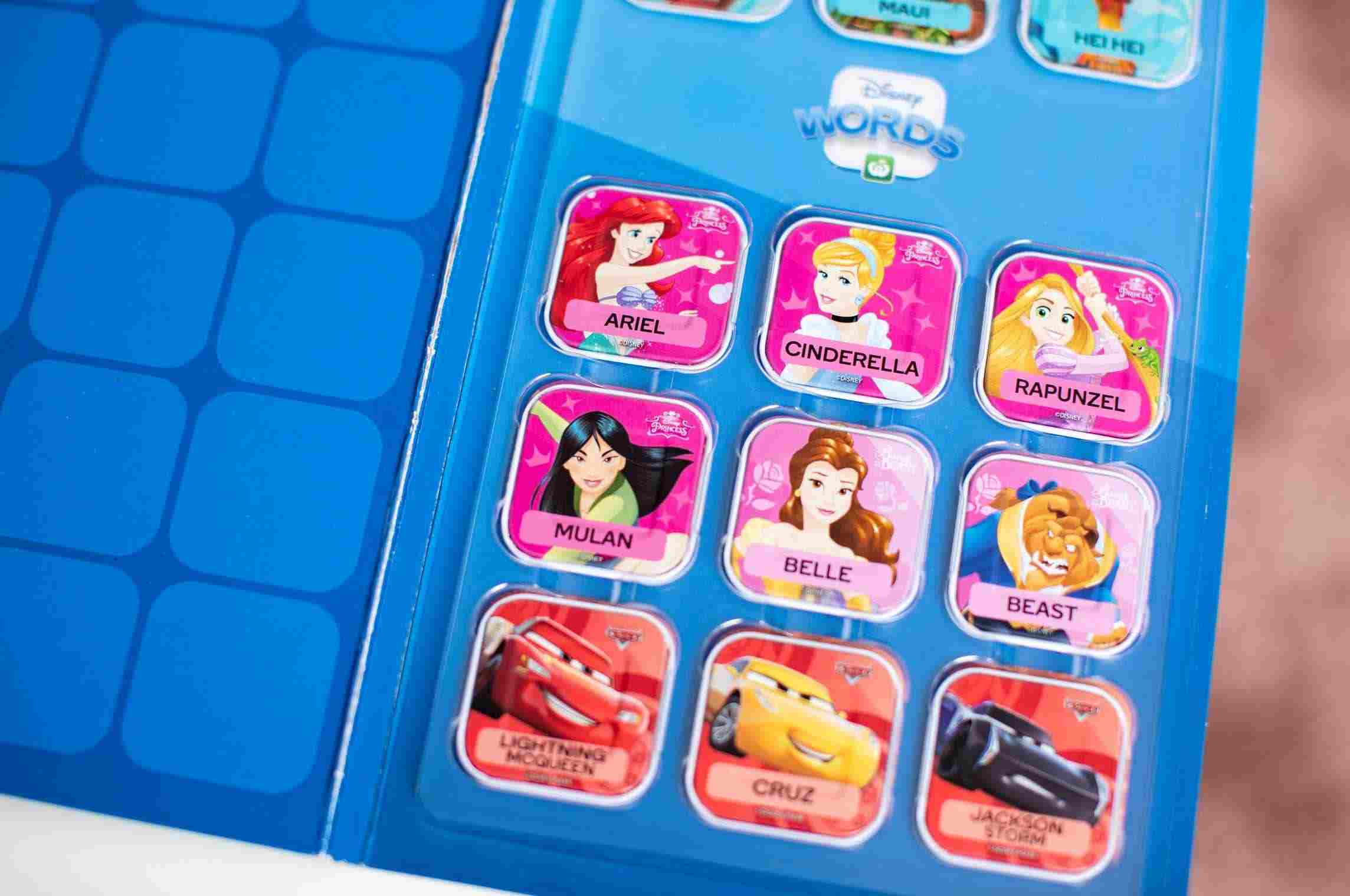 Woolworths Collectables Disney Words